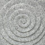 Текстура круга спиральная каменная Стоковые Фотографии RF