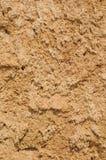 Текстура крупного плана сухой почвы и песка Стоковая Фотография RF