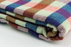Текстура крупного плана ткани Стоковое Изображение RF