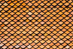 Текстура крыши глины Стоковое Фото