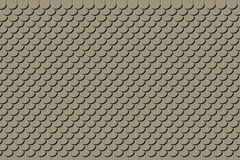 Текстура крыши глины Стоковое фото RF