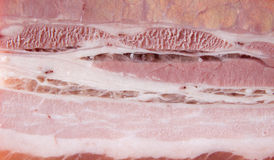 текстура курят свининой, котор Стоковое Фото