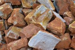 Текстура 3658 - куча камней Стоковые Фото