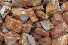 Текстура 3659 - куча камней Стоковая Фотография