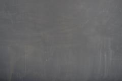 Текстура классн классного (доски). Пустая пустая черная доска с трассировками мела Стоковая Фотография RF