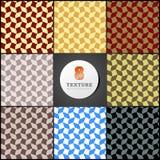 Текстура клети к форме striped волн Стоковое Изображение RF