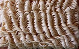 Текстура лапши рамэнов стоковая фотография