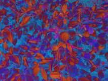 Текстура лист осени иллюстрация штока