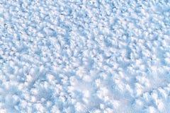 Текстура льда зимы покрытая с ледяными кристаллами стоковые фотографии rf