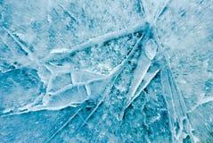 Текстура льда, холодный лед Стоковое Изображение RF