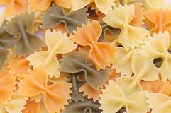 текстура макаронных изделия предпосылки Стоковые Фото
