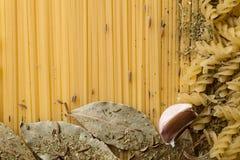 Текстура макаронных изделия Стоковое Изображение
