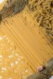 Текстура макаронных изделия Стоковые Фото