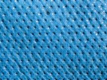 Текстура макроса - голубой брезент Стоковая Фотография RF