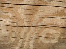 Текстура макроса - древесина - треснутая с картиной Стоковое Фото