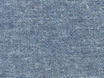 Текстура макроса - тканья - джинсовая ткань Стоковая Фотография