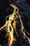 Текстура масла Стоковая Фотография