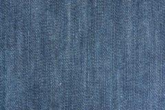 Текстура материала от джинсовой ткани Стоковое Изображение