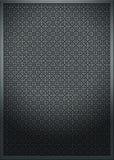 текстура металла отверстия щетки Стоковое фото RF