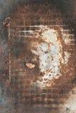 текстура металла ржавая Стоковое Изображение