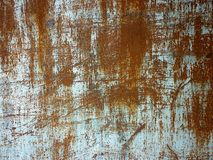 Текстура металла с царапинами и отказами Стоковое Фото