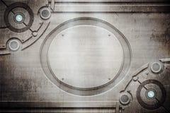 Текстура металла Grunge Стоковое Изображение