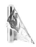текстура металла алюминиевой фольги Стоковые Фотографии RF