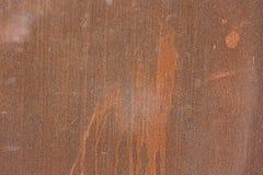 текстура металла ржавая Стоковая Фотография