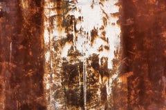текстура металла старая ржавая Стоковое Изображение RF