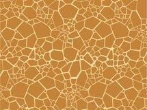 Текстура меха жирафа Стоковая Фотография RF