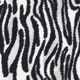 Текстура меха зебры Стоковые Изображения
