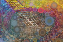 Текстура мозаики гитары стоковые фото