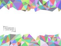 Текстура мозаики конспекта пестротканая полигональная r ( иллюстрация штока