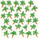 Текстура моркови Стоковая Фотография RF