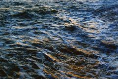 Текстура морской воды стоковые фотографии rf