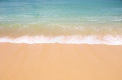 текстура моря песка предпосылки Стоковые Фотографии RF