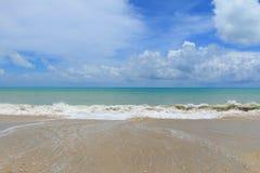 текстура моря песка предпосылки Стоковые Изображения RF