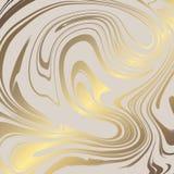 Текстура мрамора с имитацией золота Мрамор золота для дизайна Стоковое Изображение