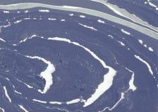 Текстура мраморной бумаги абстрактные чернила предпосылки смешивая краски Стоковое фото RF