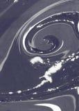 Текстура мраморной бумаги абстрактные чернила предпосылки смешивая краски Стоковое Изображение RF