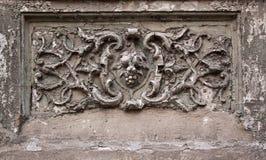 Текстура на раковине, старые здания в Одессе 19 Стоковое Изображение