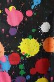 Текстура на черной предпосылке Стоковое Изображение