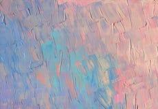 Текстура неба захода солнца предпосылка исследует текстуру части картины маслом серии там к холстина иллюстрация вектора