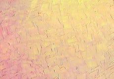 Текстура неба захода солнца предпосылка исследует текстуру части картины маслом серии там к холстина Стоковые Изображения RF