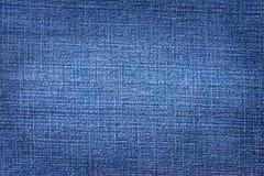 Текстура несенная джинсовой тканью Стоковые Изображения