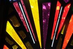 Текстура окна цветного стекла красочная Стоковые Фотографии RF