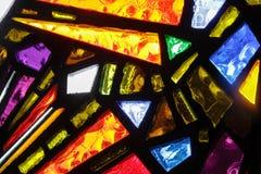 Текстура окна цветного стекла красочная Стоковая Фотография RF