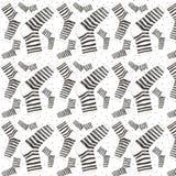 Текстура домашних носок безшовная текстура Стоковые Фото