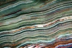 Текстура оникса зеленого цвета драгоценной камня Стоковая Фотография RF
