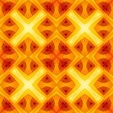 Текстура оранжевого желтого цвета красная абстрактная Домашний образец дизайна ткани оформления Яркая безшовная плитка Оптимистич Стоковые Фотографии RF